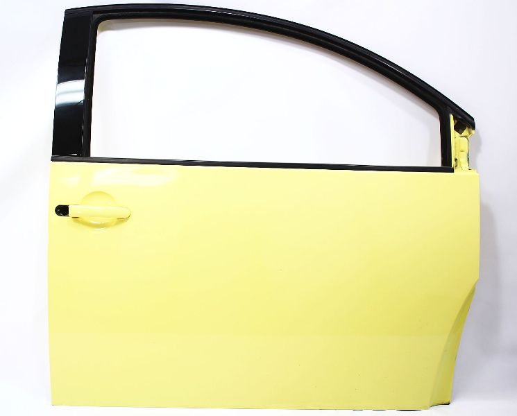 RH Front Door Shell 98-05 VW Beetle - LD1B Yellow - Genuine