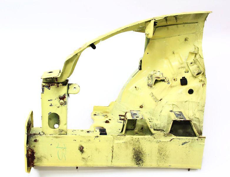 RH Upper & Lower Frame Rail Section 98-05 VW Beetle - Body Horn - Yellow -