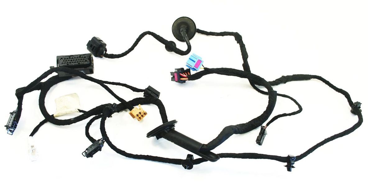 rh front door wiring harness vw jetta golf gti mk4