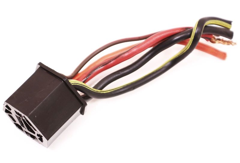 Ignition Wiring Plug Pigtail Vw Jetta Rabbit Gti Scirroco Mk1