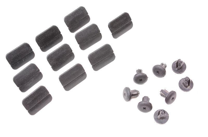 Trunk Lid Carpet Trim Panel Clips Screws 93 99 Vw Jetta