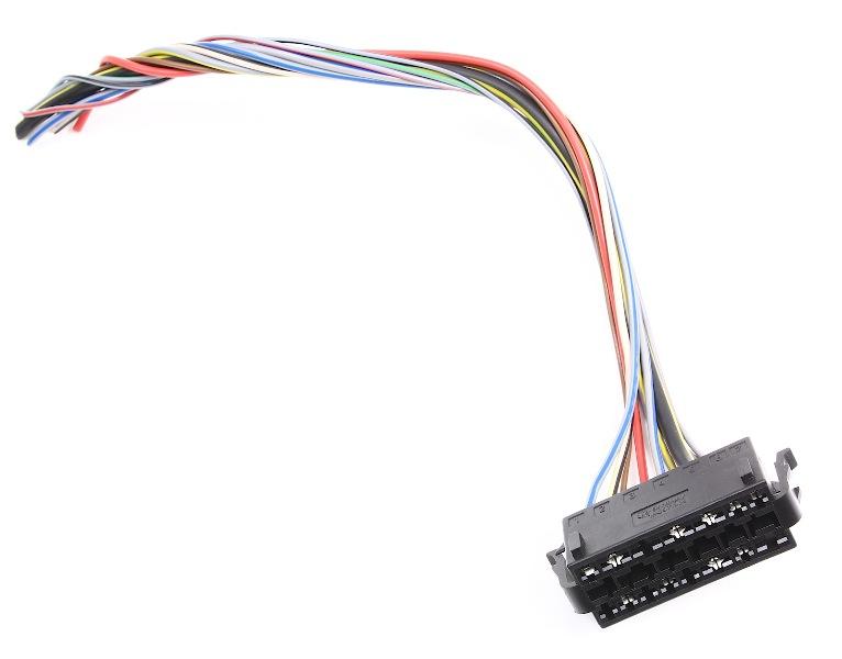 Headlight Switch Wiring Plug Pigtail 95-97 VW Passat B4 - Genuine