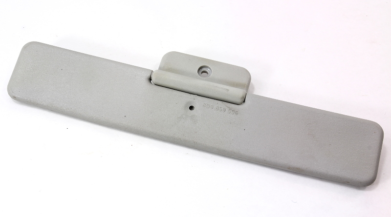 Center Mini Sun Visor Sunvisor - Audi A3 - Gray - Genuine - 3B0 858 555