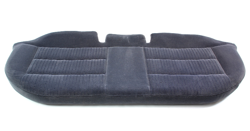 Rear Seat Bottom Cushion 96-99 Audi A4 B5 - Black Cloth - Genuine