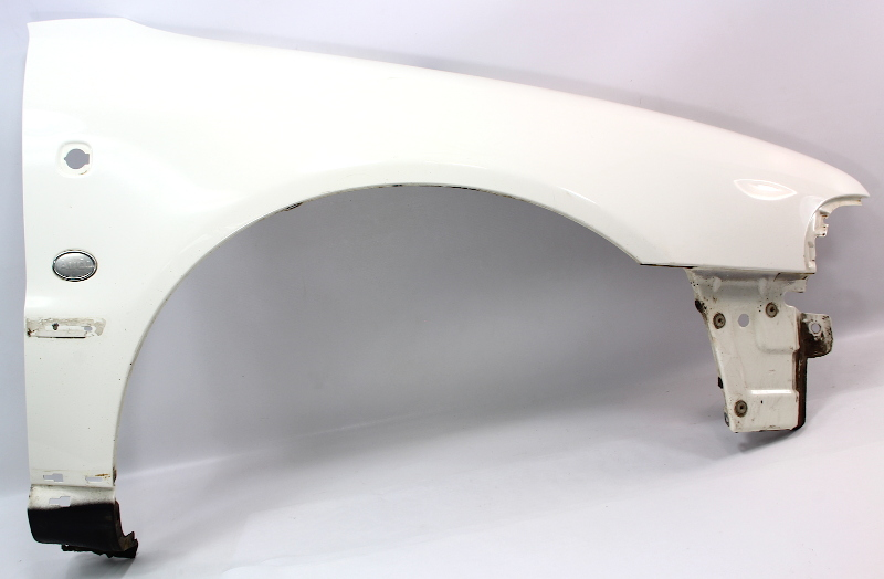Rh Fender Audi A4 97 99 B5 Ly9g Casablanca White