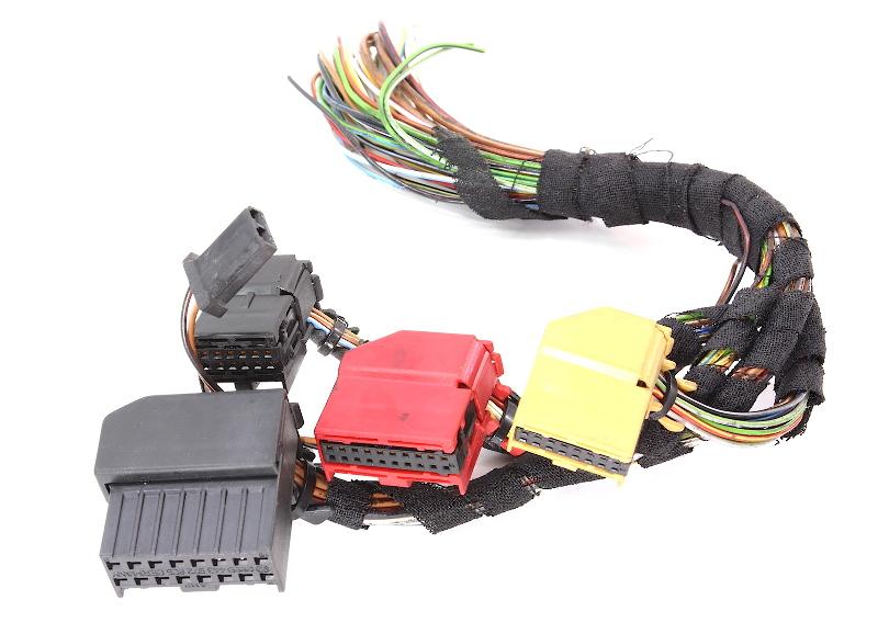 Climate Temp Control Module Plugs Wiring Pigtails Audi A4 97 98