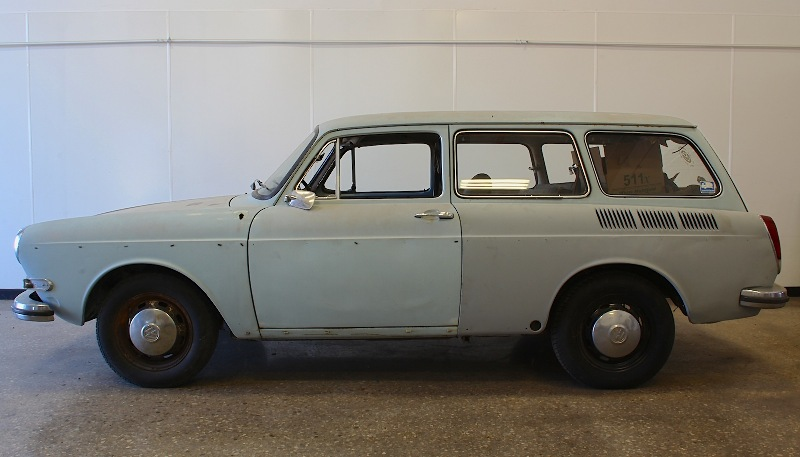 1970 Vw Type 3 Squareback Body Rust Free Southern Car