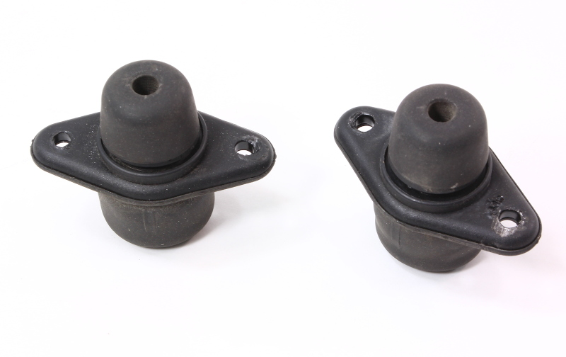Hatch Trunk Adjusters 00 06 Audi Tt Mk1 Stops Rubber Stoppers
