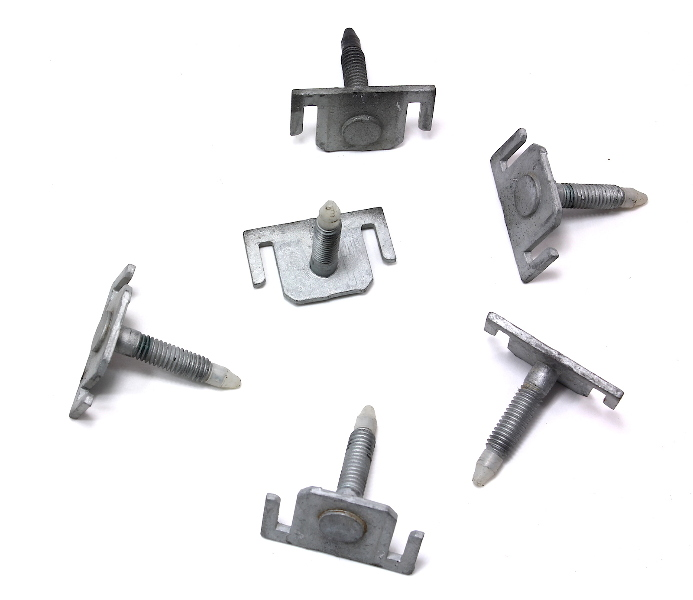 front bumper hardware slotted bolts pins   audi   allroad