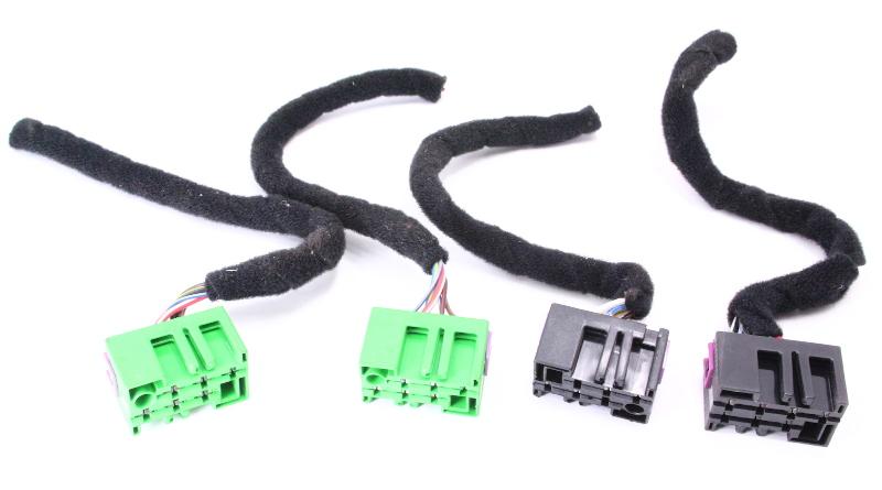 Dash Switch Button Wiring Plugs Pigtails 98-05 VW Passat B5 - Genuine