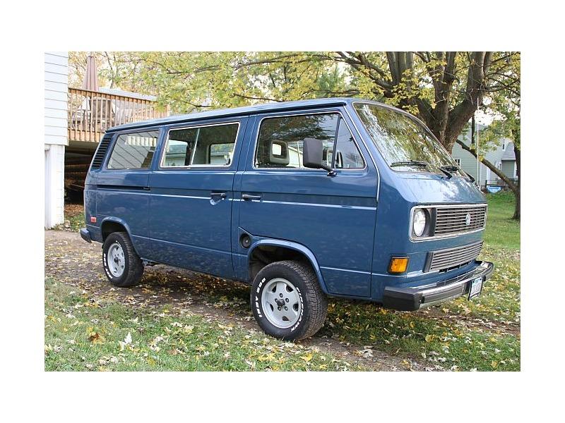 1985 Vw Vanagon Southern Van Rust Free Body Volkswagen T3