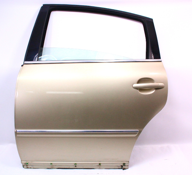 Volkswagen Beetle Under 4000: LH Rear Door Shell Skin 01-05 VW Passat B5.5