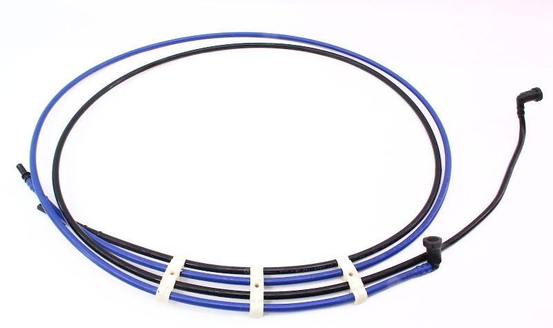 Under Car Plastic Fuel Lines 98 05 Vw Beetle 1 8t Gas