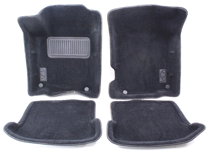molded floor mat carpet set vw beetle 98