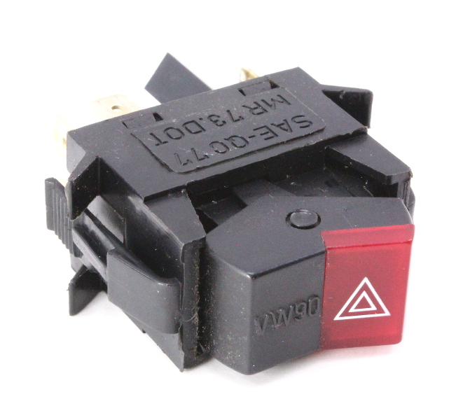 Hazard Switch Flasher 80-91 Vw Vanagon T3 Genuine