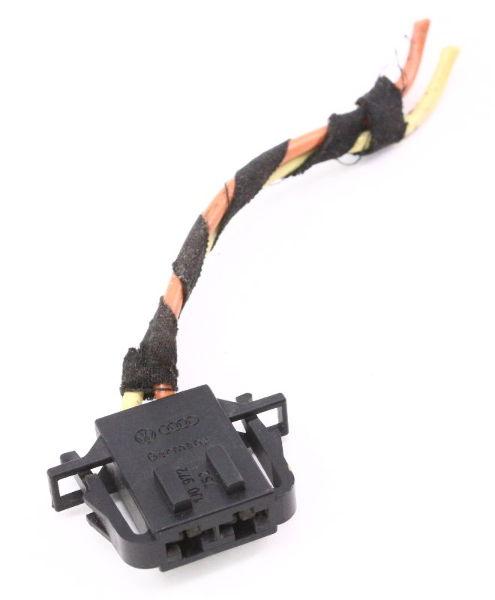 Blower Fan Motor Pigtail Plug Connector 99 05 Vw Jetta