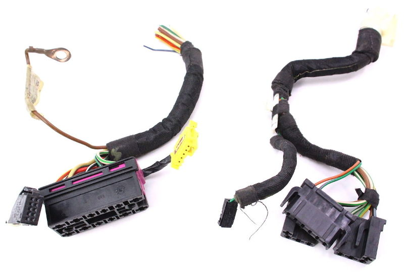 Steering Column Switch Stalks Pigtails 99 05 VW Jetta GTI