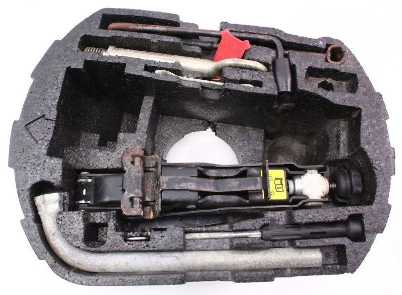 Spare Tire Tool Kit - 98-10 Vw Beetle