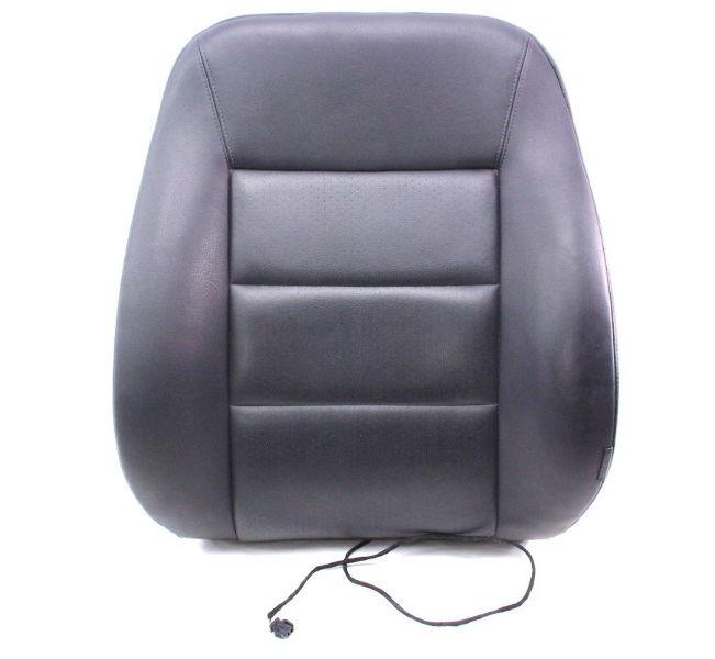 Lh driver front seat back rest 98 01 audi a6 c5 black vinyl