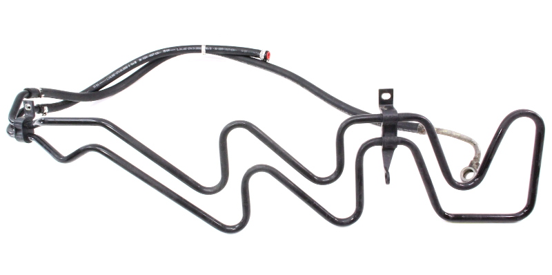 Power Steering Cooler Line Hose 2 8 V6 98 01 Audi A6 C5