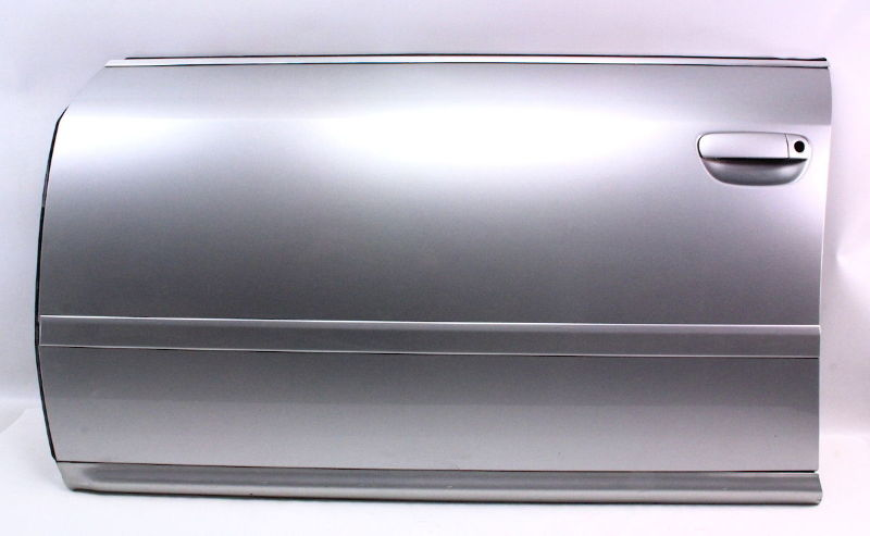 Lh Front Driver Side Door 01 04 Audi A6 Ly7w Light Silver