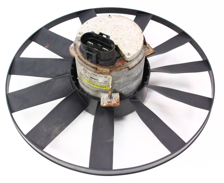 Radiator Electric Fan Motor Amp Blade Vw Passat 95 97 B4