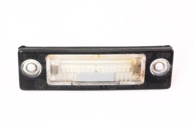 Rear License Plate Light Lens 99 05 Vw Golf Gti Mk4