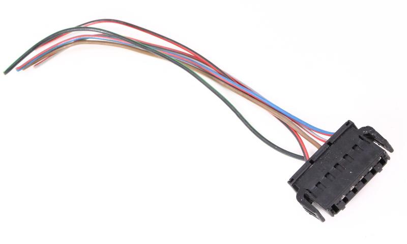 Rh Taillight Wiring Pigtail Connector Plug 98 01 Vw Passat