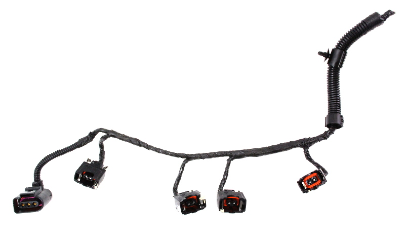 injector pigtail plug harness 2 0 vw 99-01 jetta golf mk4 beetle