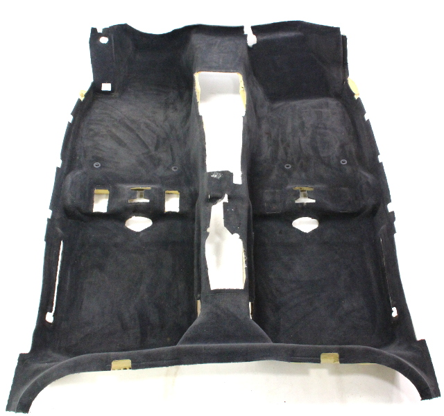 black interior floor carpet 96 01 audi a4 s4 b5 genuine