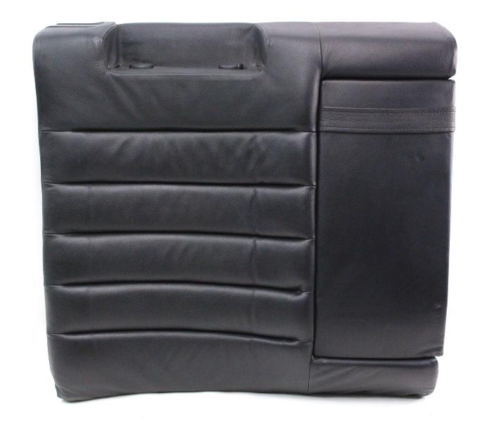 Rh Rear Black Leather Rear Seat Back Rest Armrest Audi S4