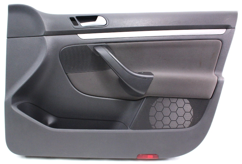 Rh Passenger Front Interior Door Panel Card 05-10 Vw Jetta Mk5