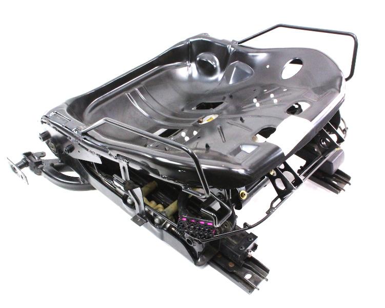 rh front power seat frame track base