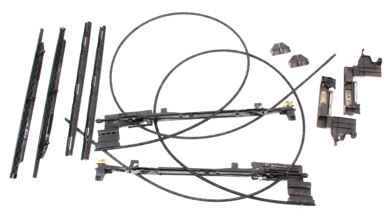 sunroof moonroof repair parts tracks guides cables 02