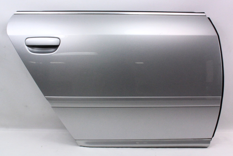 Rh Rear Door Shell Skin 02 04 Audi A6 S6 Rs6 C5 Ly7m Silver