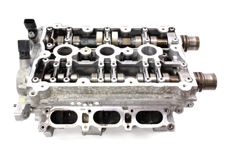 lh driver cylinder head  u0026 camshafts 3 0 v6 avk 02 04 audi