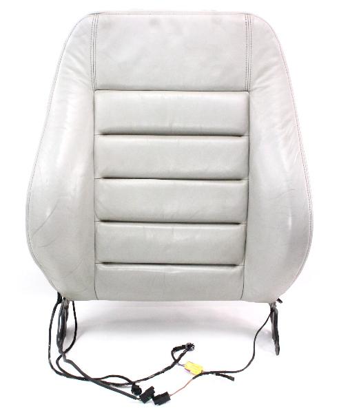 Rh Front Light Beige Leather Seat Backrest Back Rest 00