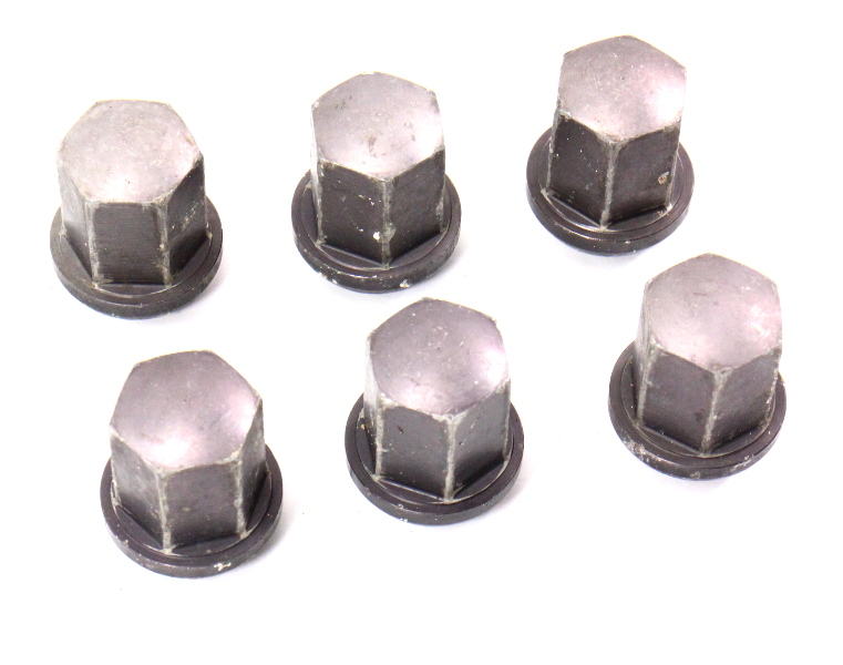 1985 porsche 944 - set of 6 aluminum lug nuts