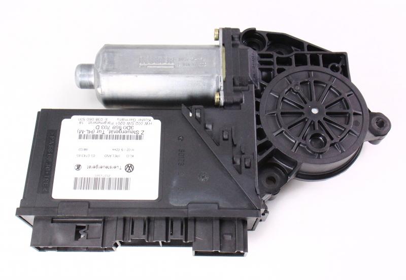 LH Rear Power Window Motor & Module 04-06 VW Phaeton - Genuine - 3D0 959 703 D