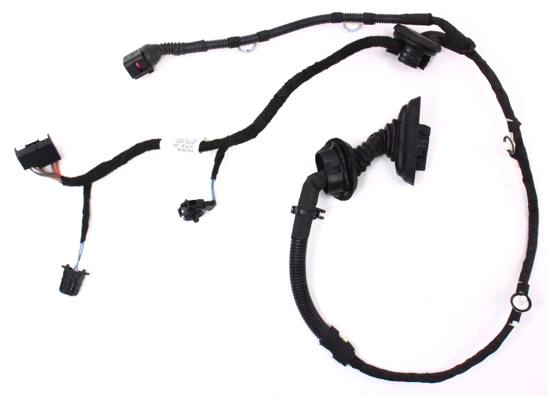Rear Door Wiring Harness 06-08 Audi A3 - Genuine