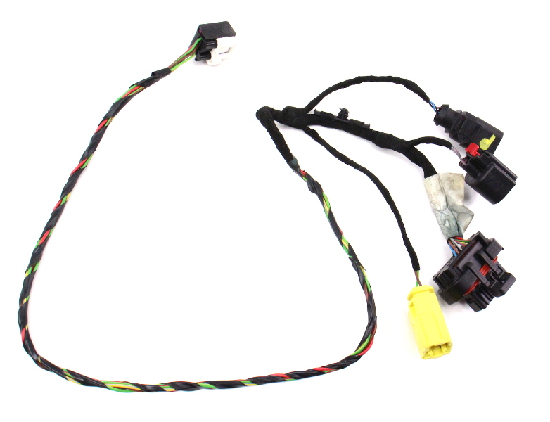 rh seat wiring harness 06-08 audi a3 8p - manual