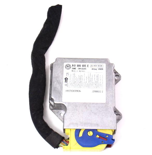 Airbag Module 05 06 Vw Jetta Mk5 Air Bag Computer