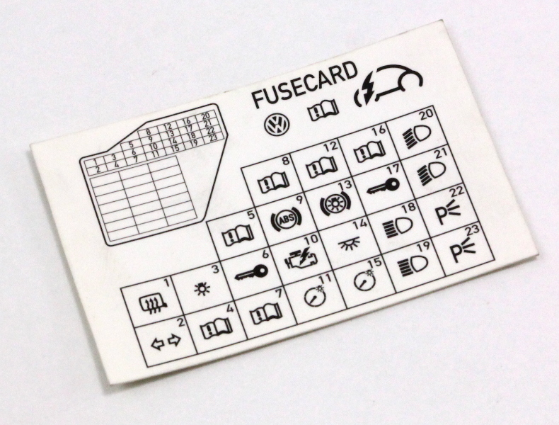 dash fuse box diagram card 98 10 vw beetle genuine 1c0 010 232 k carparts4sale inc
