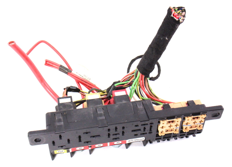 Dash Relay Box Panel W Wiring Harness Pigtail 98 04 Audi A6 C5 8l0 941 822 A