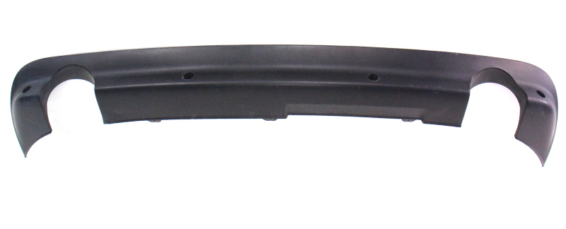 Rear Bumper Skirt Exhaust Cut Out Lip Diffuser 02