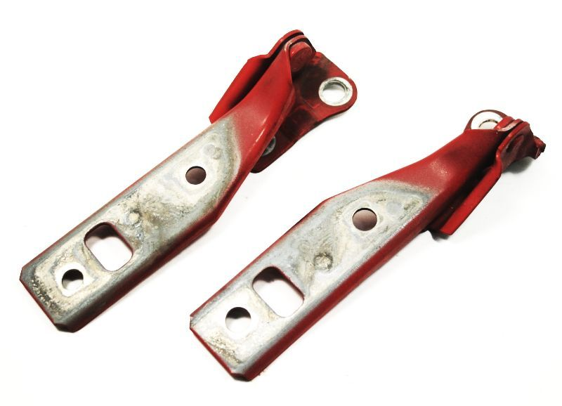 Hood Hinges 99 5 05 Vw Jetta Golf Gti Mk4 Tornado Red Ly3d