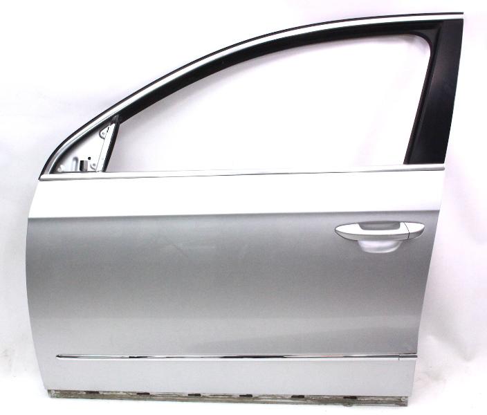 Lh Front Door Shell 06 10 Vw Passat B6 La7w Reflex