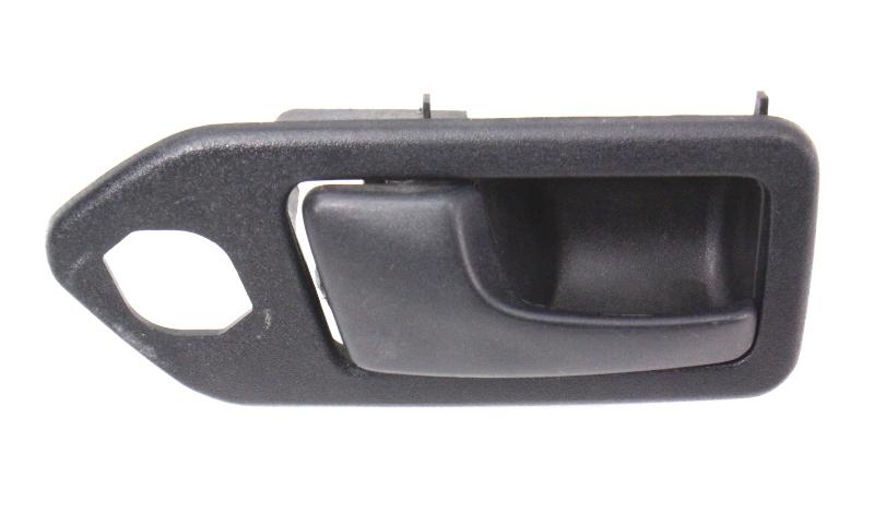 LH Interior Door Handle 90-94 VW Passat B3 - Black - Genuine - 357 837 235
