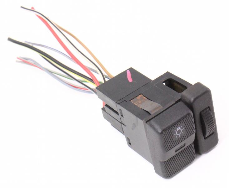 Headlight Head Light Lamp Amp Dimmer Switch 90 94 Vw Passat