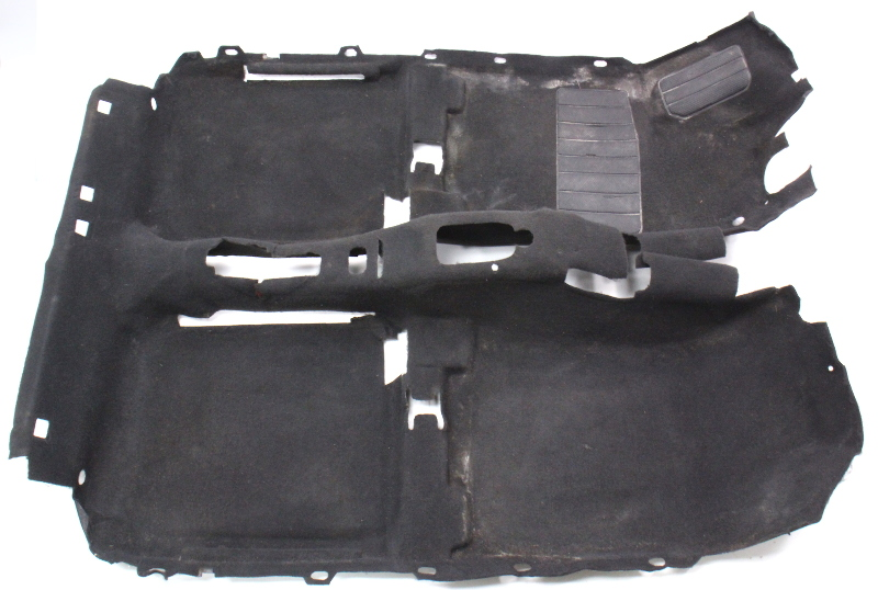 Interior Black Floor Carpet 93 99 Vw Jetta Golf Mk3 Genuine